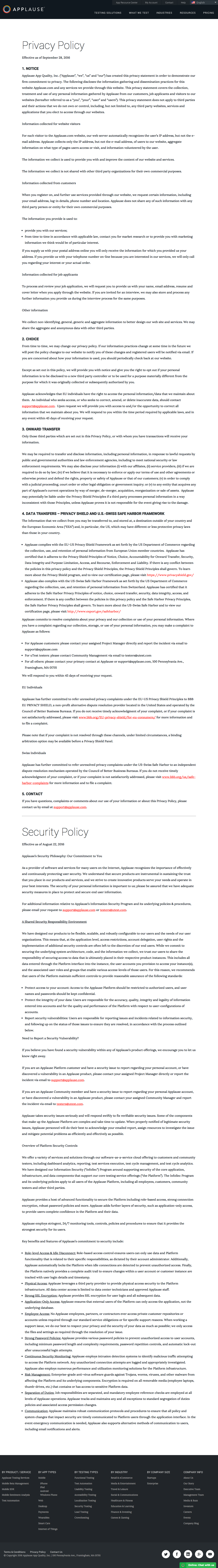 2019 Free Privacy Policy Template Generator