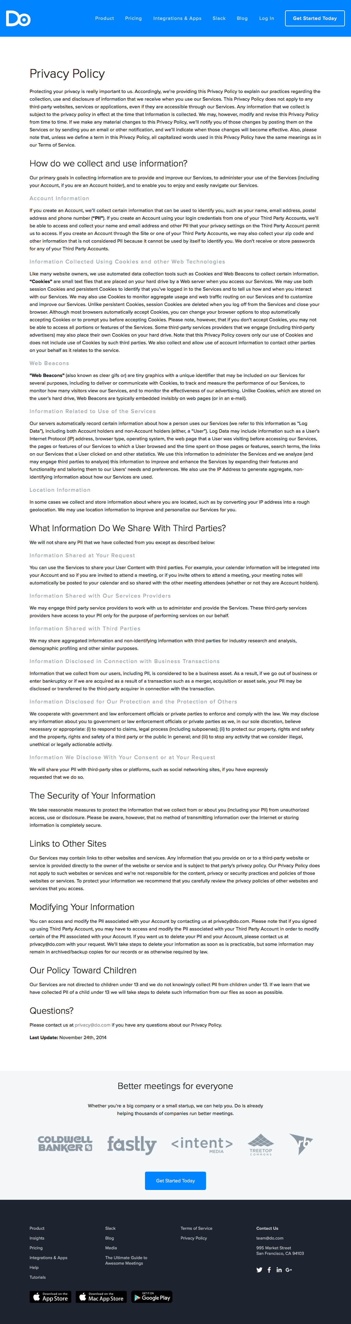 Privacy Policy Template Generator Free - Privacy policy cookies template