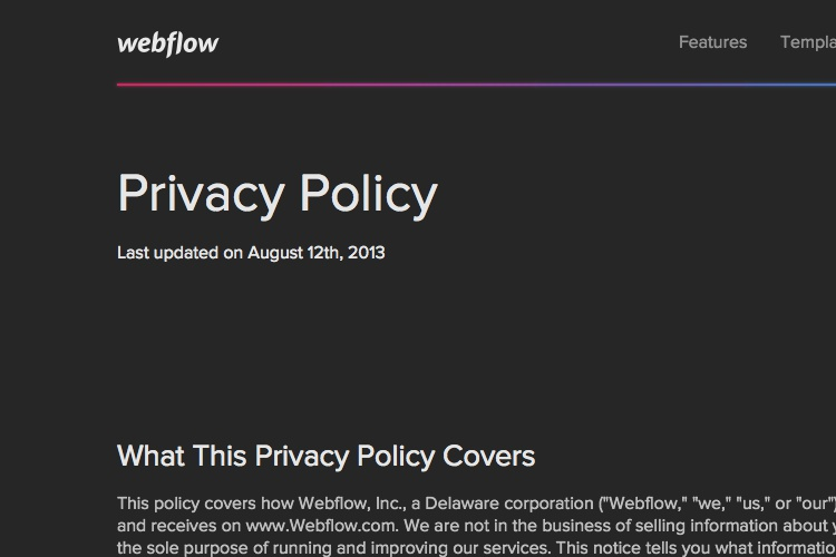 Privacy Policy Template Australia Free Privacy Policy Template Generator Free 2017